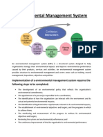 Footprint-Environmental Management System