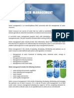 Footprint-Water Management Services