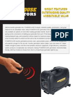 Powerhouse Pro Series Brochure English