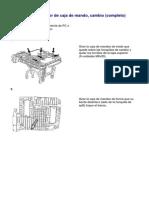 43271-4 Tapa Superior de La Caja de Mando, Cambio