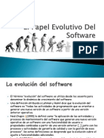 1.2 El Papel Evolutivo Del Software