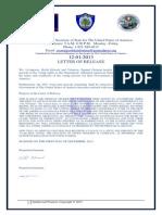 Declaration of Elections 2013