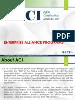 Agile Certification Institute (ACI) Corporate Programs