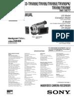 Sony CCD TRV Service Manual