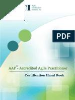 Accredited Agile Practitioner Certification Handbook