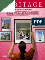 Heritage the New Seven Wonders