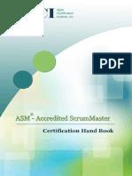 Accredited Scrum Master HandBook