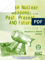 Russian Nuclear Weapons Past, Present and Future