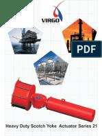 Virgo Heavy Duty Actuator