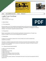 Brick Truck Trial .Com - LugPol Truck Trial Rules