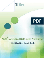 Accredited SAFe Agile Practitioner Handbook