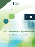 Accredited SAFe Agile Practitioner Handbook