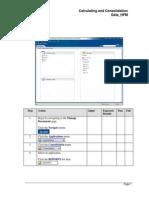 Calculating and Consolidating Data