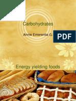 Carb Ho Hydrates