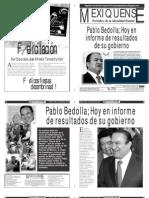 Versión impresa del periódico El mexiquense 2 diciembre 2013