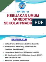 01 Kebijakan Umum Akreditasi Smp