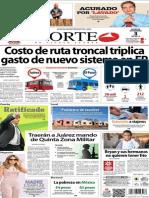Periódico Norte de Ciudad Juarez 3 de Diciembre de 2013