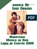 Libro de Cantos Ministerio Musica de Dios