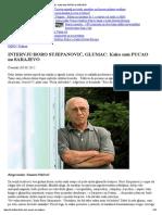 Boro Stjepanović - Kako sam PUCAO na SARAJEVO