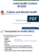 Session Nine (RKC)SUMMARY SLIDES Culture, Maori, Pacifica, Minorities and Mental Health(2013)