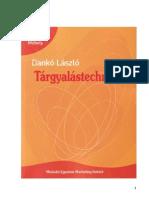 Dankó László - Tárgyalástechnika