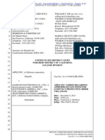 13-12-02 Apple's Proposal for Sanctions Against Samsung and Quinn Emanuel