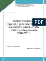 Bugetul General Centralizat Al Unitatilor Administrativ Teritoriale Final