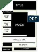 Music Magazine Frontcover Mockup