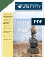 District-41 E-Newsletter Nov 2013 Vol 5