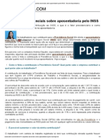 11 Respostas Essenciais Sobre Aposentadoria Pelo INSS - Guia de Aposentadoria