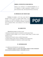 Proiect Cercetari de Marketing