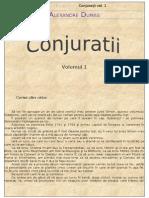 Alexandre Dumas - Conjuratii - Vol. 1