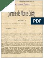 Alexandre Dumas - Contele de Monte Cristo - Vol. 2