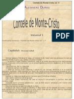 Alexandre Dumas - Contele de Monte Cristo - Vol. 3
