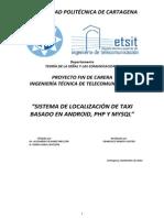 Sistema de Localizacion de Taxi Basado en Mysql y PHP