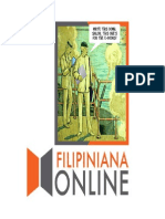Filipiniana Online Project Brief