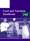 Food and Nutrition Handbook WFP
