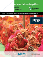 2013 Cambridge International Development Report