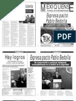 Versión impresa del periódico El mexiquense 3 diciembre 2013