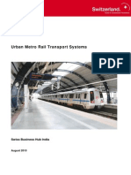 Bbf Omo India Report Urban Metro Rail Transport Systems