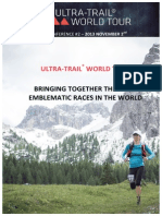 Ultra Trail World Tour Official Dossier Press Conference New York 2 November
