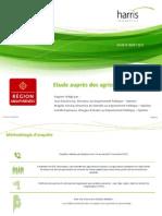 Rapport HI - Etude auprès des agriculteurs (CR Midi-Pyrénées)