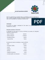 APRL_Relatório Contas 2012-2013