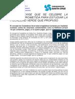 Nota de Prensa Fiscalidad Verde