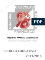 AEFA_Projeto Educativo 2013-2016