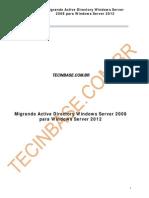 Migrando Active Directory Windows Server 2008 Para Windows Server 2012