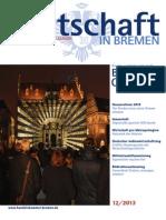 Wirtschaft in Bremen 12/2013 - Kultur- und Kreativwirtschaft