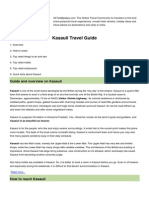 Kasauli City Guide Oktatabyebye