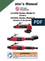 Operator Manual air grinder