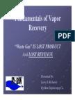 Vapour Recovery Unit